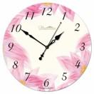 """Настенные часы из стекла Династия 01-015 """"Иллюзия"""""""