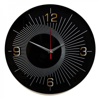 Настенные часы из стекла Династия 01-079