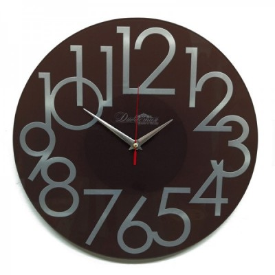 Настенные часы из стекла Династия 01-081