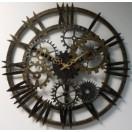 Настенные часы Династия 07-005 Скелетон-1