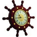 ШЧСТ-С9 Штурвал сувенирный, часы