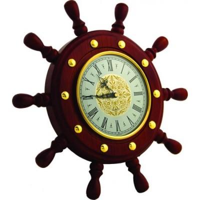 Часы штурвал сувенирный ШЧСТ-С9