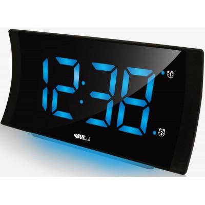 BVItech BV-432B Электронные настольные часы с будильником, подсветкой
