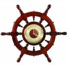 ШЧСТ-С11 Штурвал сувенирный, часы (6 ручек)