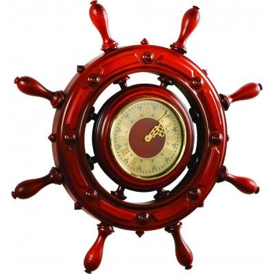 ШЧСТ-С12/1 Штурвал сувенирный, часы