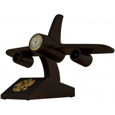 Н-102 Самолет Часы с гербом РФ
