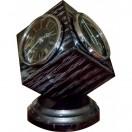 Н-5 Black-Silver Метеостанция настольная Бриг+