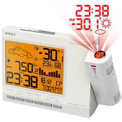 RST 32774 Часы проекционные – метеостанция