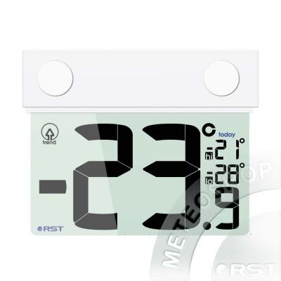 Цифровой оконный термометр на липучке