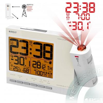 Проекционные часы с радиодатчиком