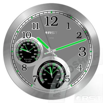 RST 77733 Cветящиеся настенные часы