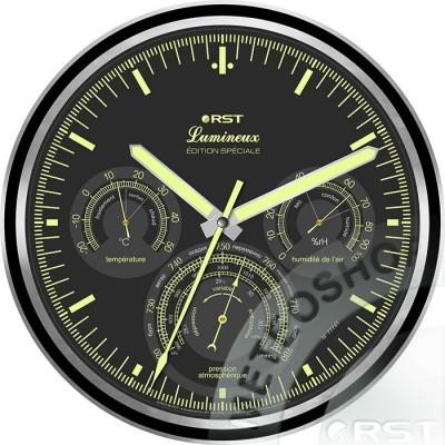 Светящиеся настенные часы RST 77741
