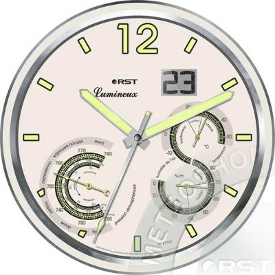 Светящиеся настенные часы RST 77745