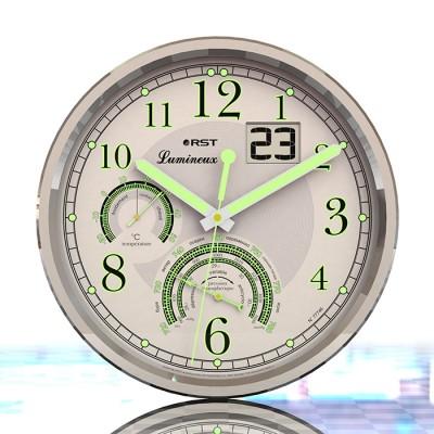 Светящиеся настенные часы RST 77746