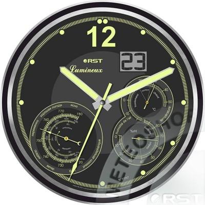 Светящиеся настенные часы RST 77747