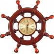ШЧСТ-С7 Штурвал сувенирный, часы (8 ручек)