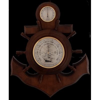БМ-6 Якорь сувенирный барометр