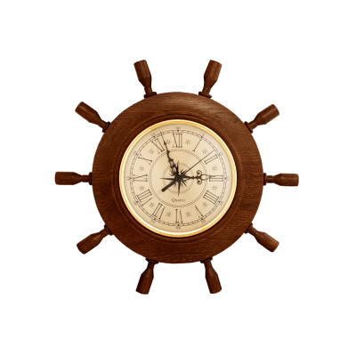 Часы штурвал сувенирный БМ-9