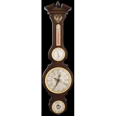 БМ-97 Домашняя метеостанция с часами герб РФ