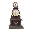 Часы настольные с барометром БН1 ГЕРБ Р.Ф СМИЧ
