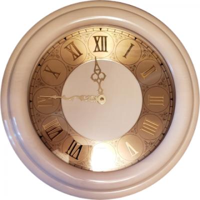 Ч-2/1 часы настенные слоновая кость