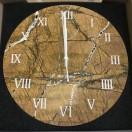 Настенные часы из натурального камня Art Stone мрамор MMB015