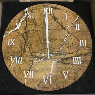 Настенные часы из натурального камня