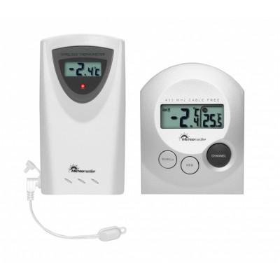 Meteomaster T254004-White Цифровой термометр с выносным радиодатчиком
