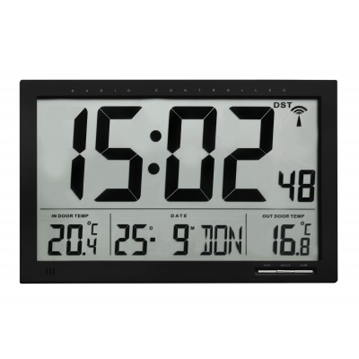 TFA 60.4510.01 Цифровые часы с термометром