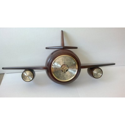 М-100 Метеостанция барометр самолет Бриг+