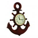 М-15  Якорь сувенирный-часы Бриг+