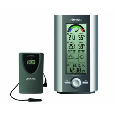 Atomic W739005-S Электронная цифровая домашняя метеостанция