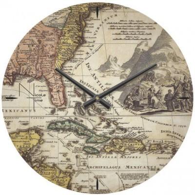 Настенные часы Nicole time
