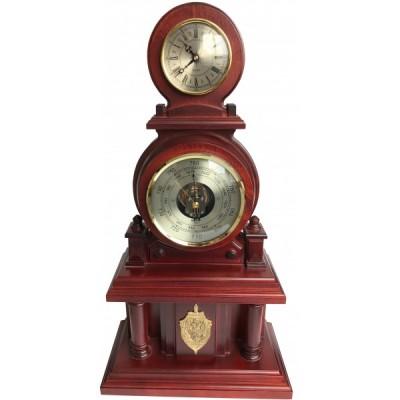 Часы настольные с барометром Бриг+