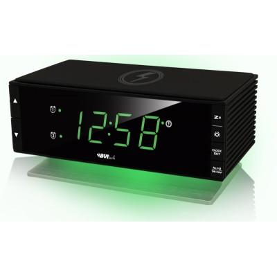 BVItech BV-433G Настольные часы с бесконтактной зарядкой для телефона
