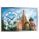 """Настенные часы из песка Династия 03-158 """"Москва"""""""