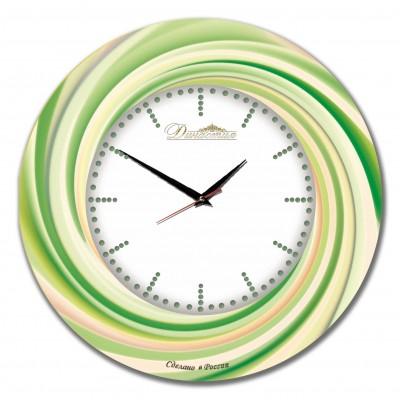 Настенные часы из стекла Династия 01-038