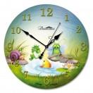 Настенные часы из стекла Династия 01-040