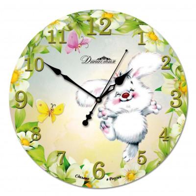 Настенные часы из стекла Династия 01-042