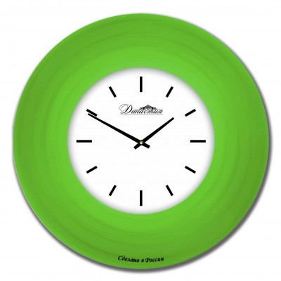 Настенные часы из стекла Династия 01-033