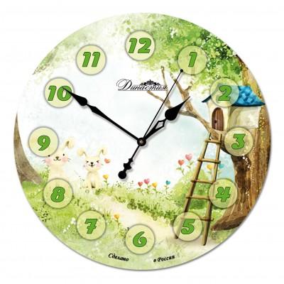 Настенные часы из стекла Династия 01-043