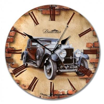 """Настенные часы из дерева Династия 02-001 """"Ретро 2"""""""