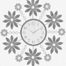 Настенные часы GALAXY AYP- 1190 G
